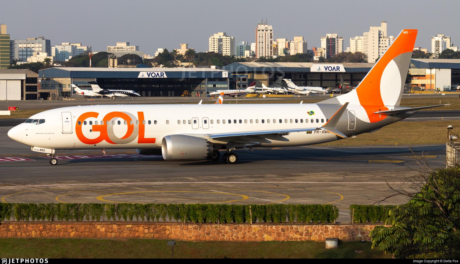 PR-XMO - Boeing 737-8 MAX - GOL Linhas Aereas