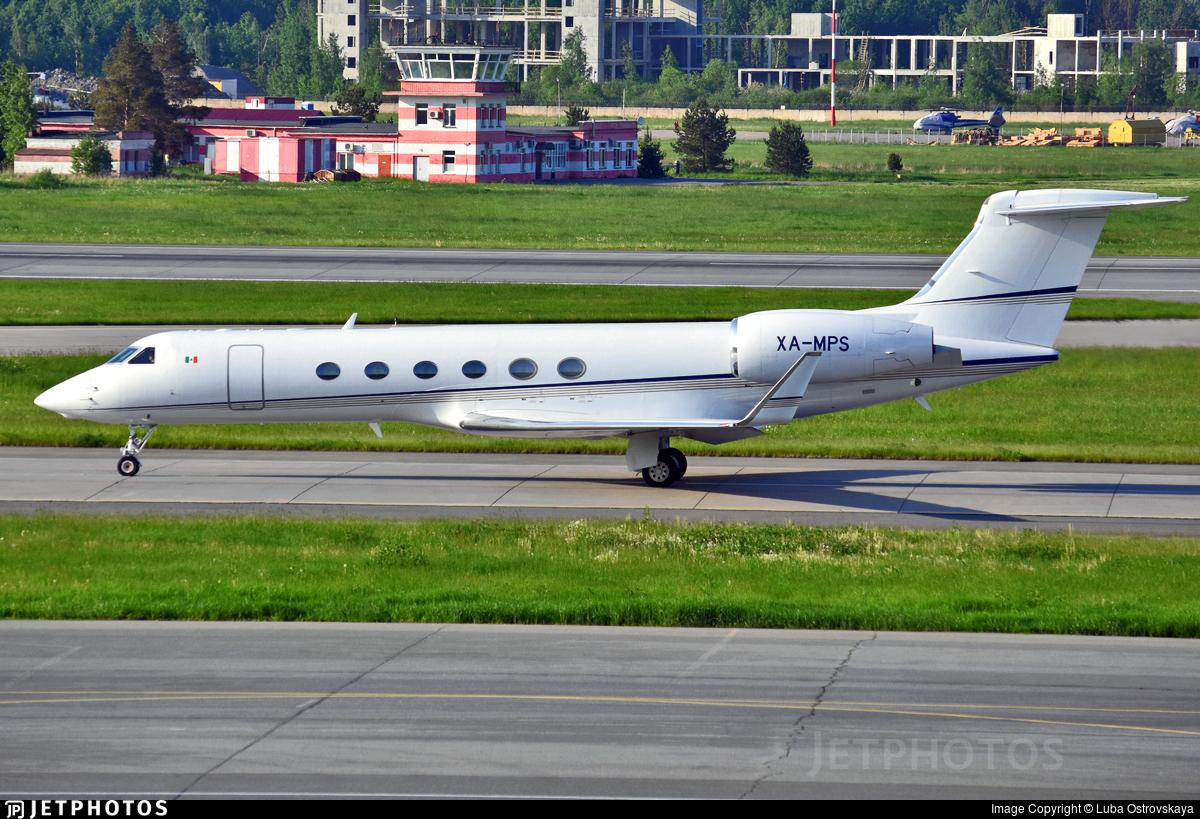 XA-MPS - Gulfstream G-V - Private
