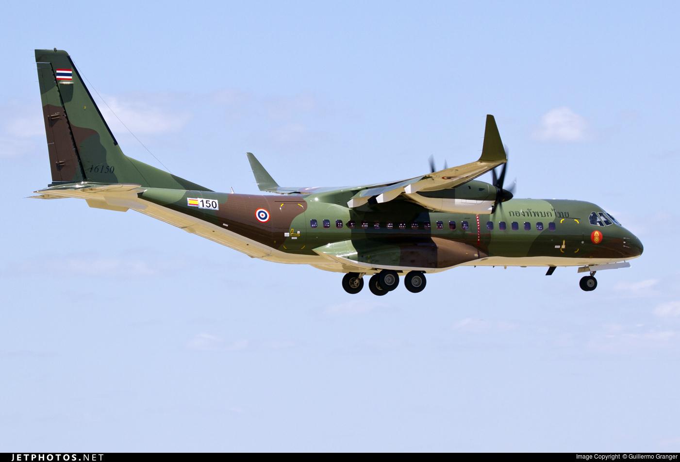 150 - Airbus C295W - Thailand - Royal Thai Army