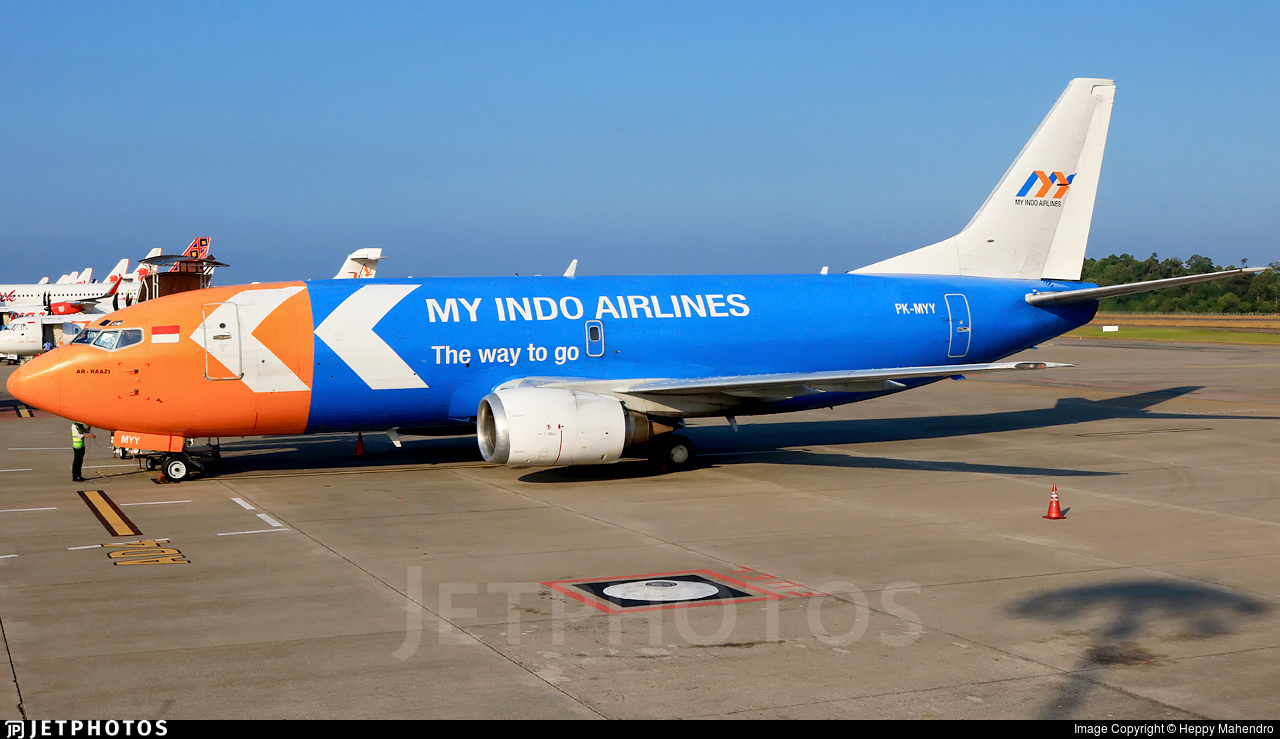 PK-MYY | Boeing 737-347(SF) | My Indo Airlines | Heppy Mahendro ...