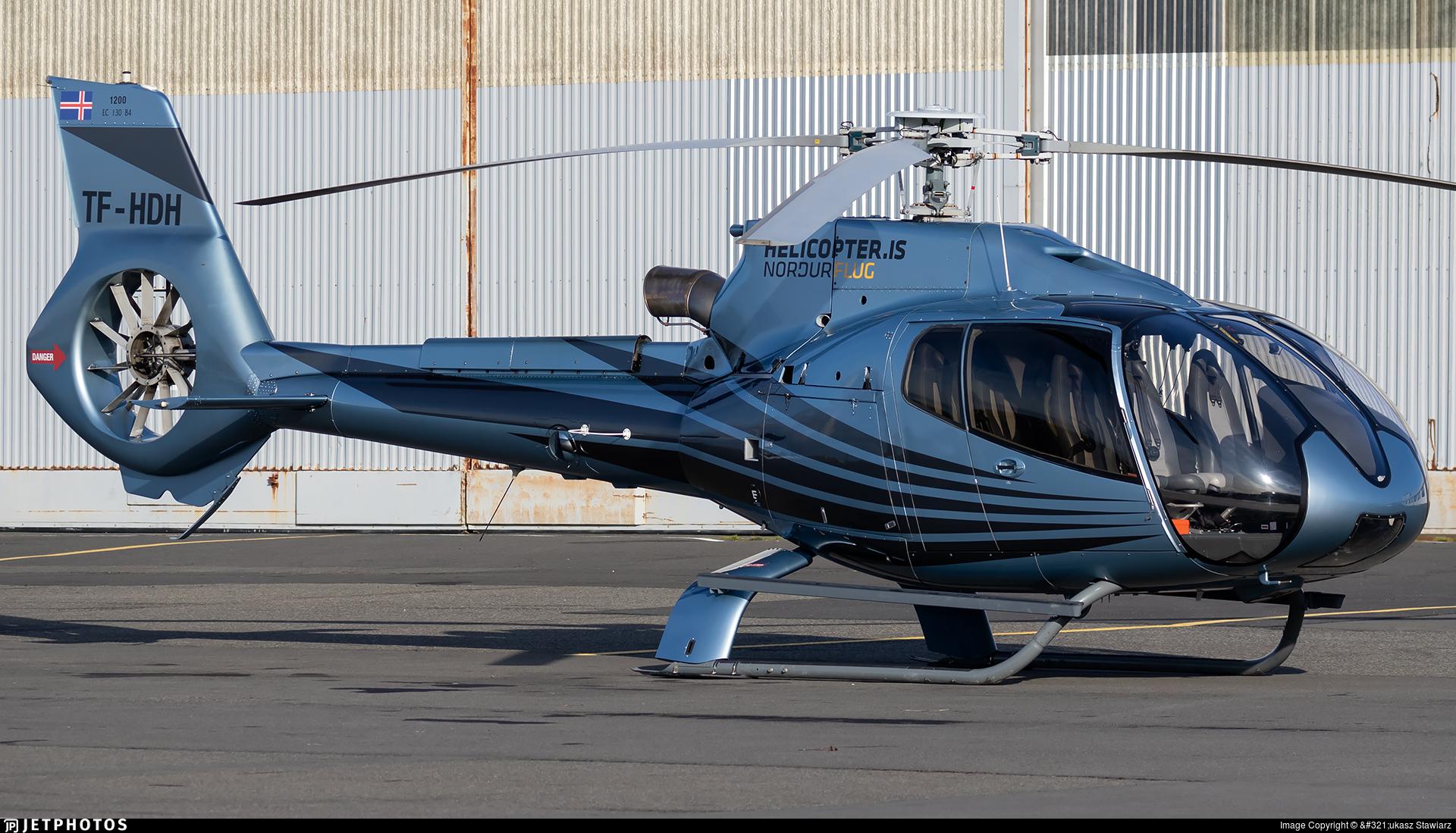 TF-HDH - Eurocopter EC 130B4 - Nordurflug Helicopter