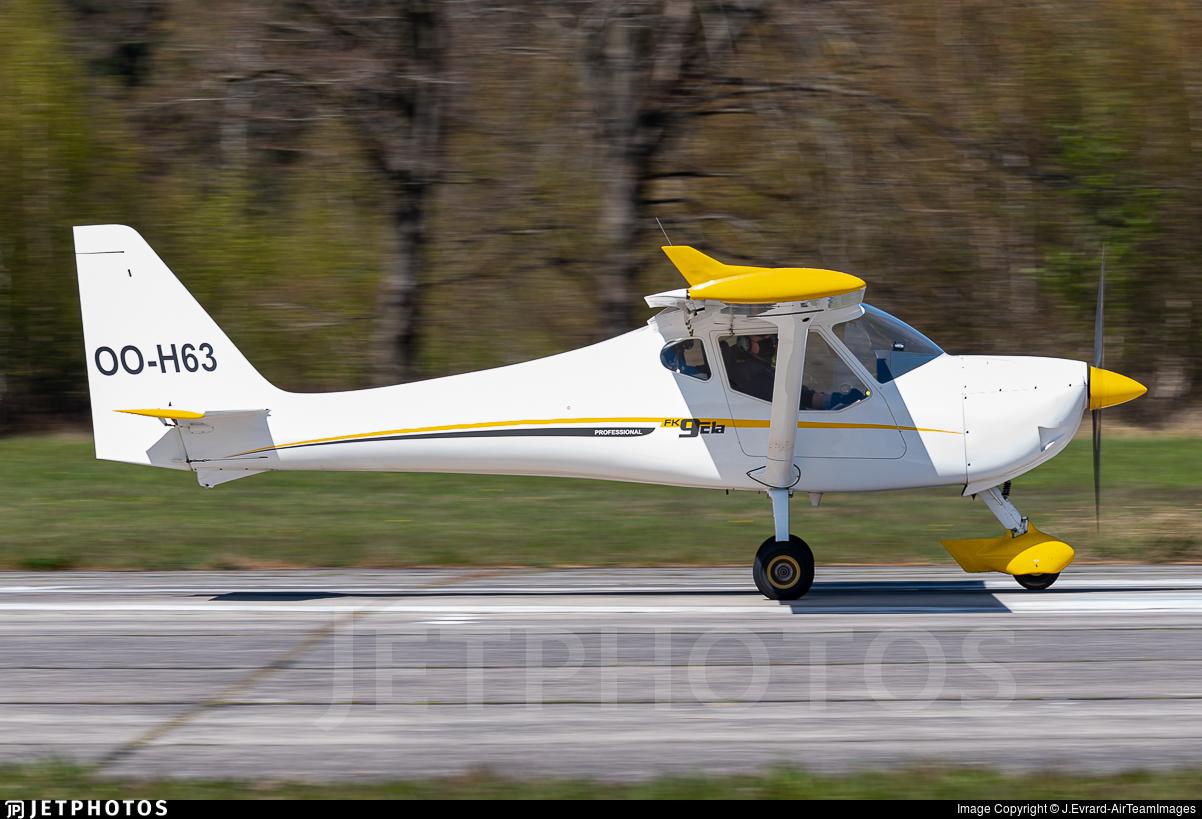 OO-H63 - B & F Technik FK-9 ELA - Vliegclub Ursel
