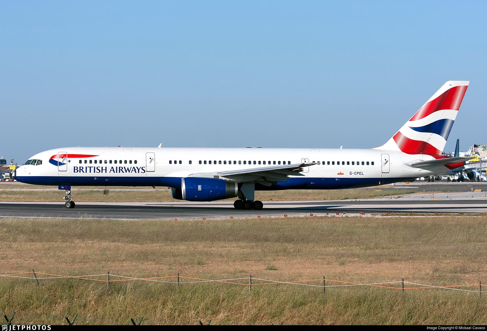 G-CPEL - Boeing 757-236 - British Airways