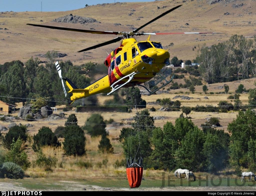 EC-MZI - Bell 412SP - Sky Helicopteros