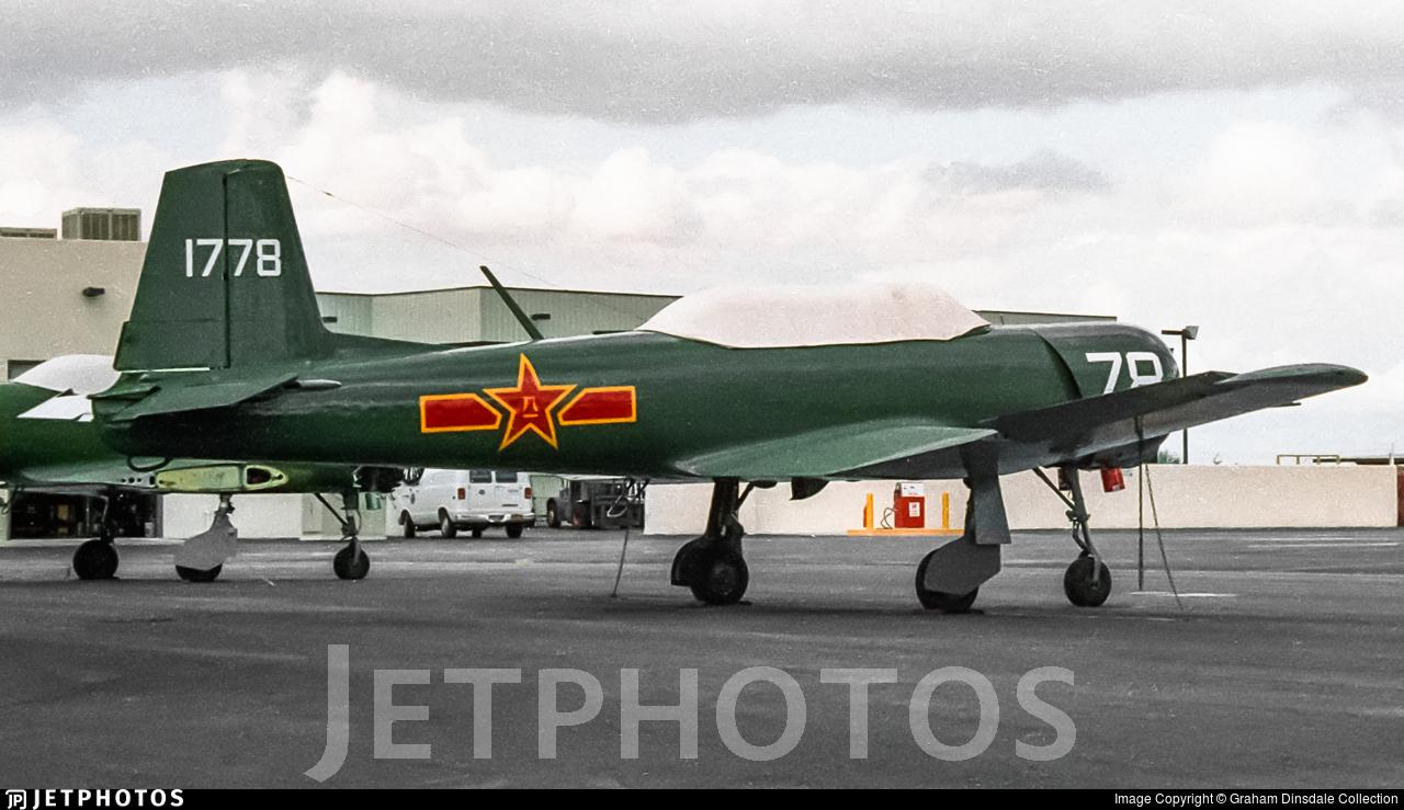 N4183E - Nanchang CJ-6A - Private