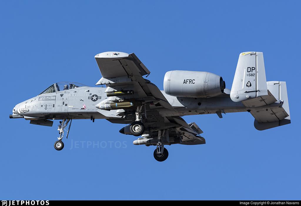 78-0582 - Fairchild A-10C Thunderbolt II - United States - US Air Force (USAF)