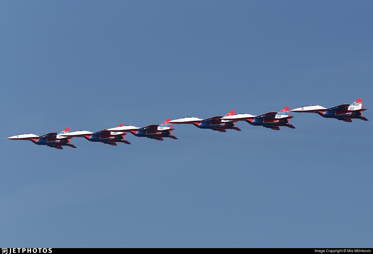 02 - Mikoyan-Gurevich MiG-29 Fulcrum - Russia - Air Force