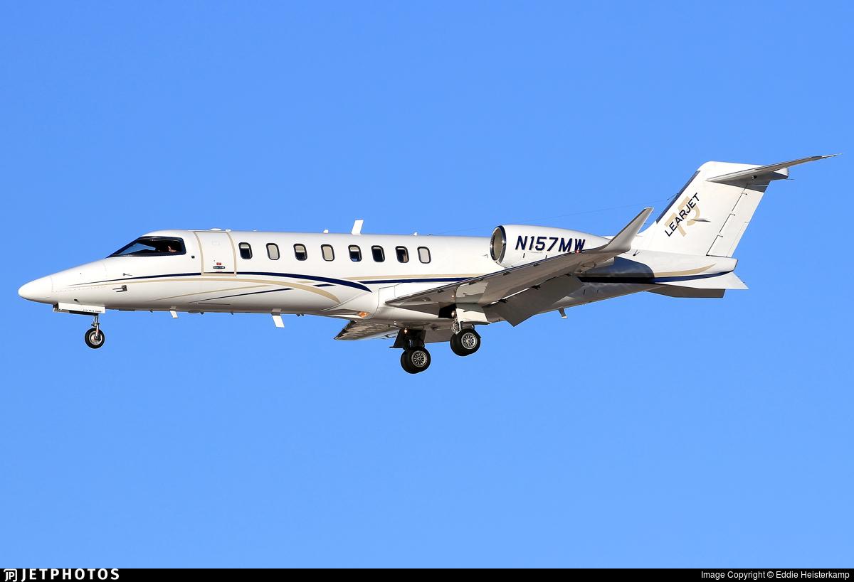 N157MW - Bombardier Learjet 75 - Private