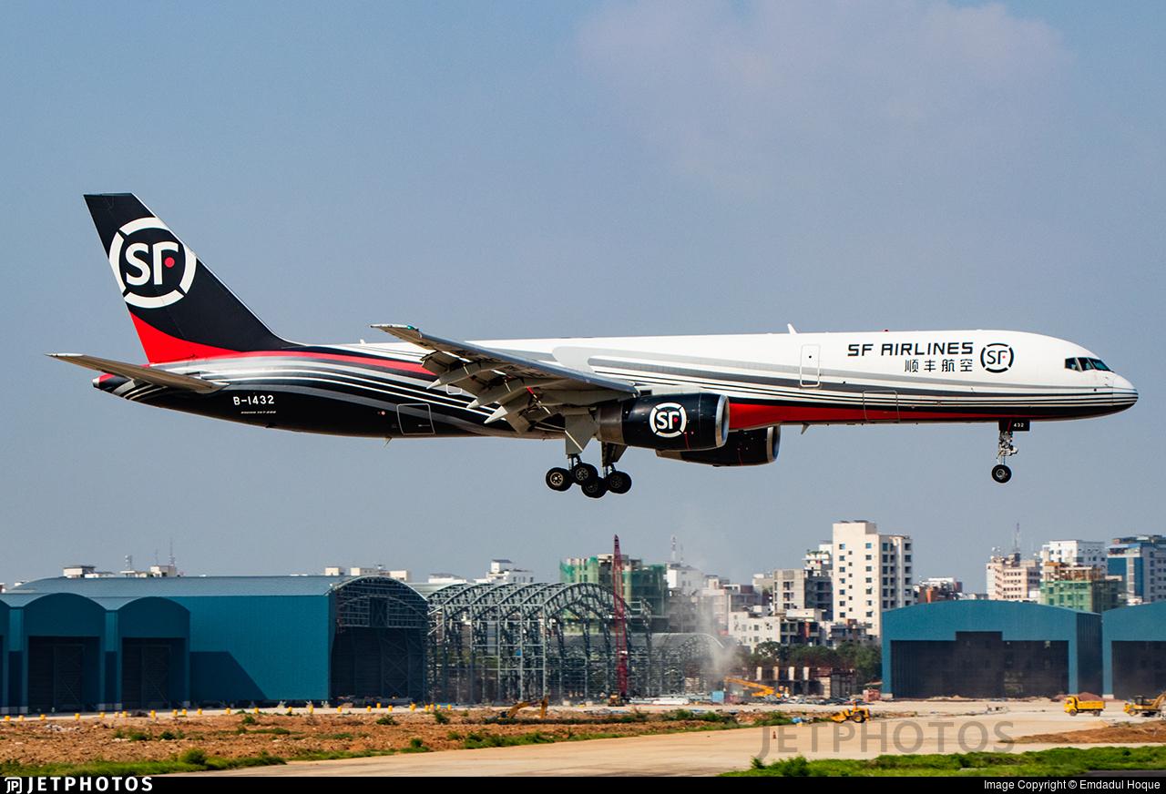B-1432 - Boeing 757-21K(SF) - SF Airlines