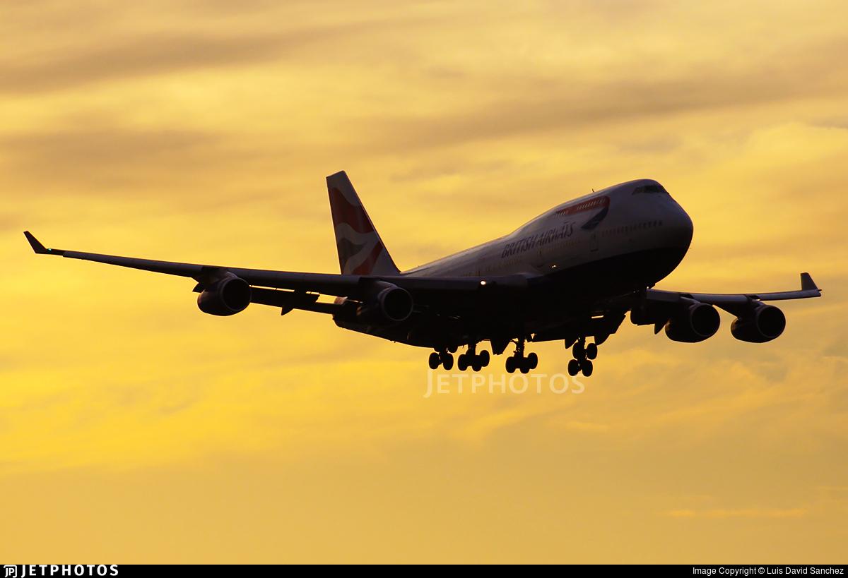G-BNLX - Boeing 747-436 - British Airways