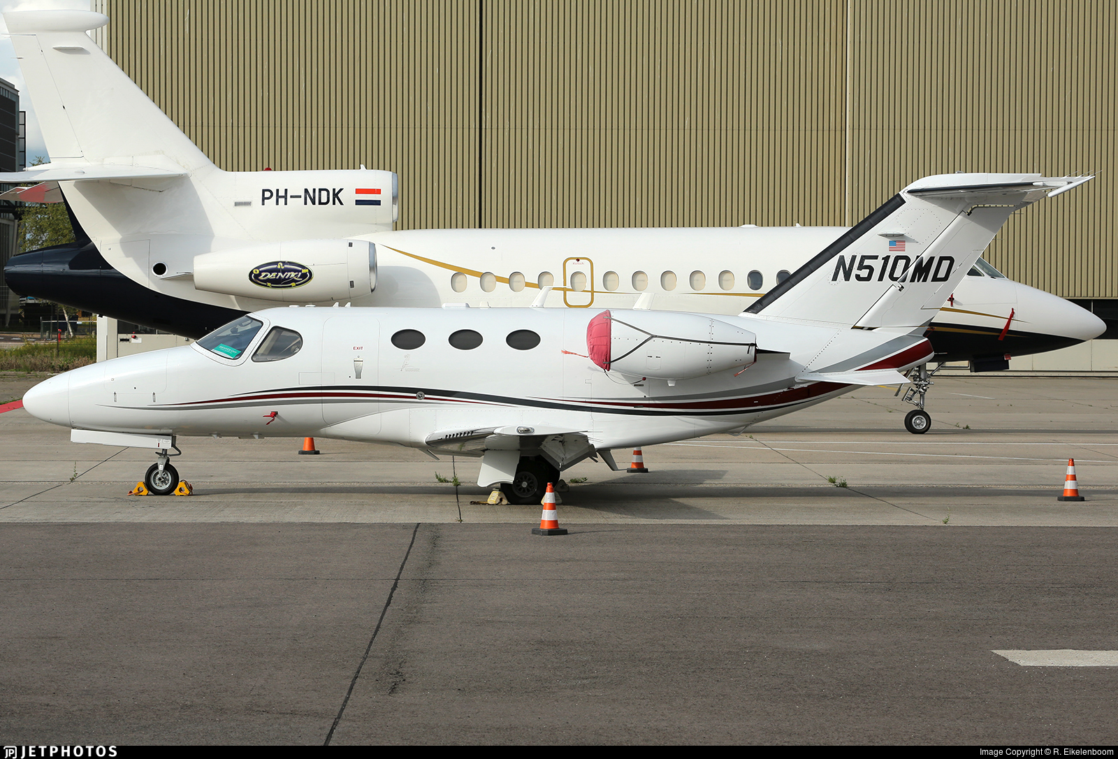 N510MD - Cessna 510 Citation Mustang - Private