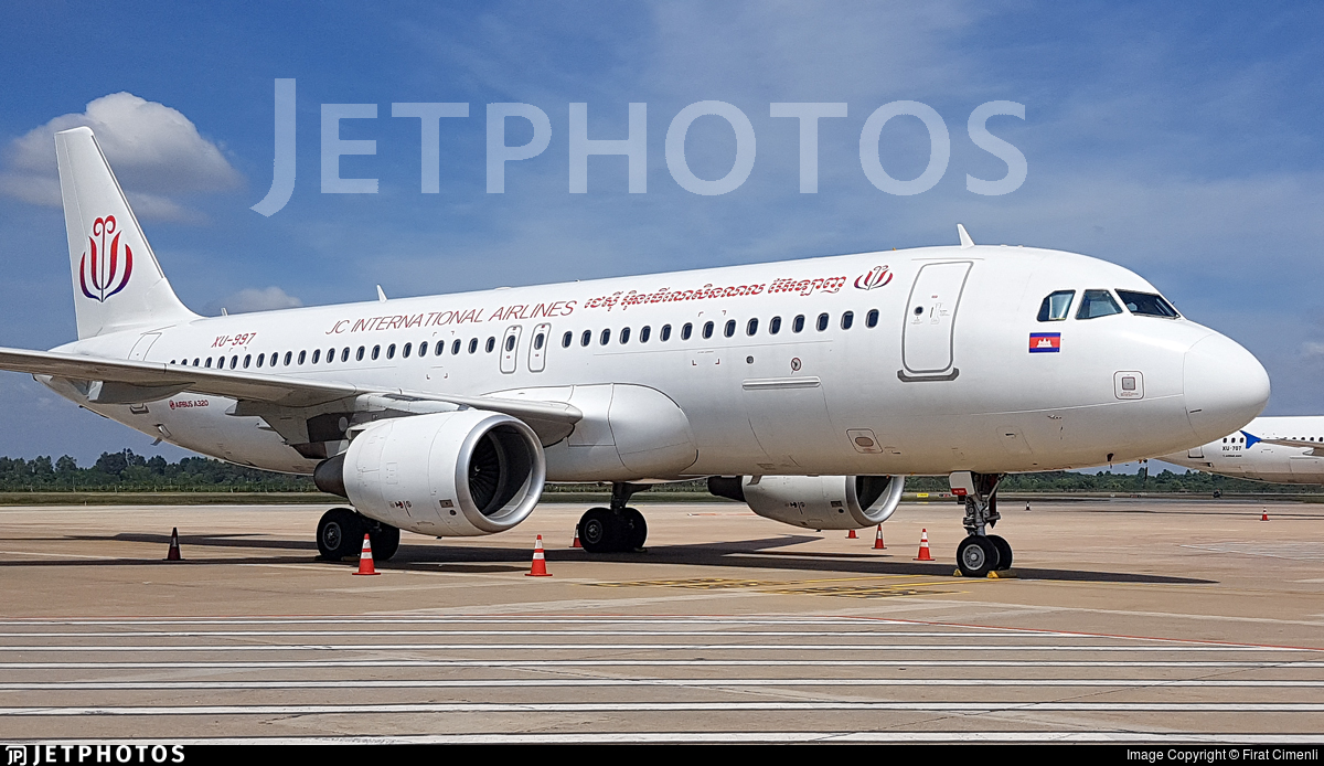 XU-997 - Airbus A320-214 - JC International Airlines