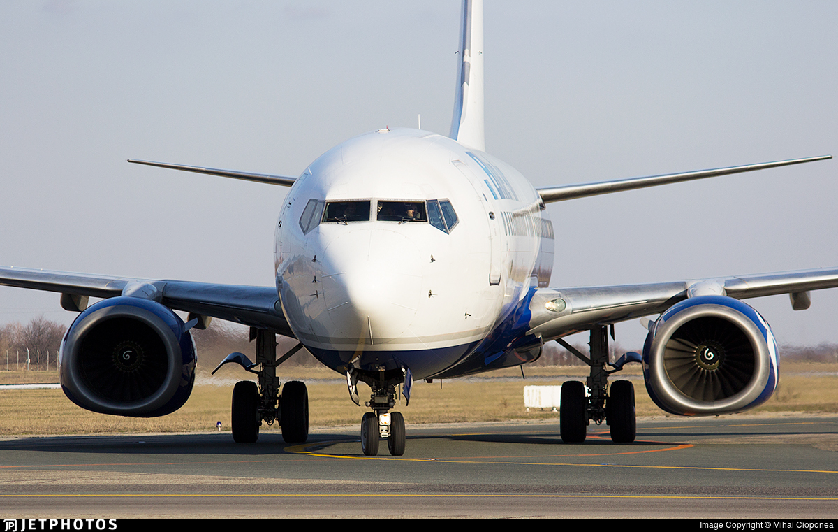 YR-BMG - Boeing 737-86N - Blue Air