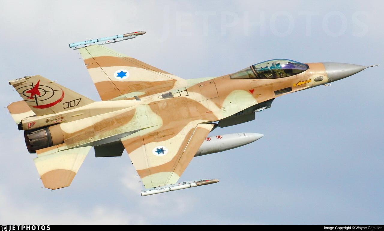 307 - Lockheed Martin F-16C Barak - Israel - Air Force