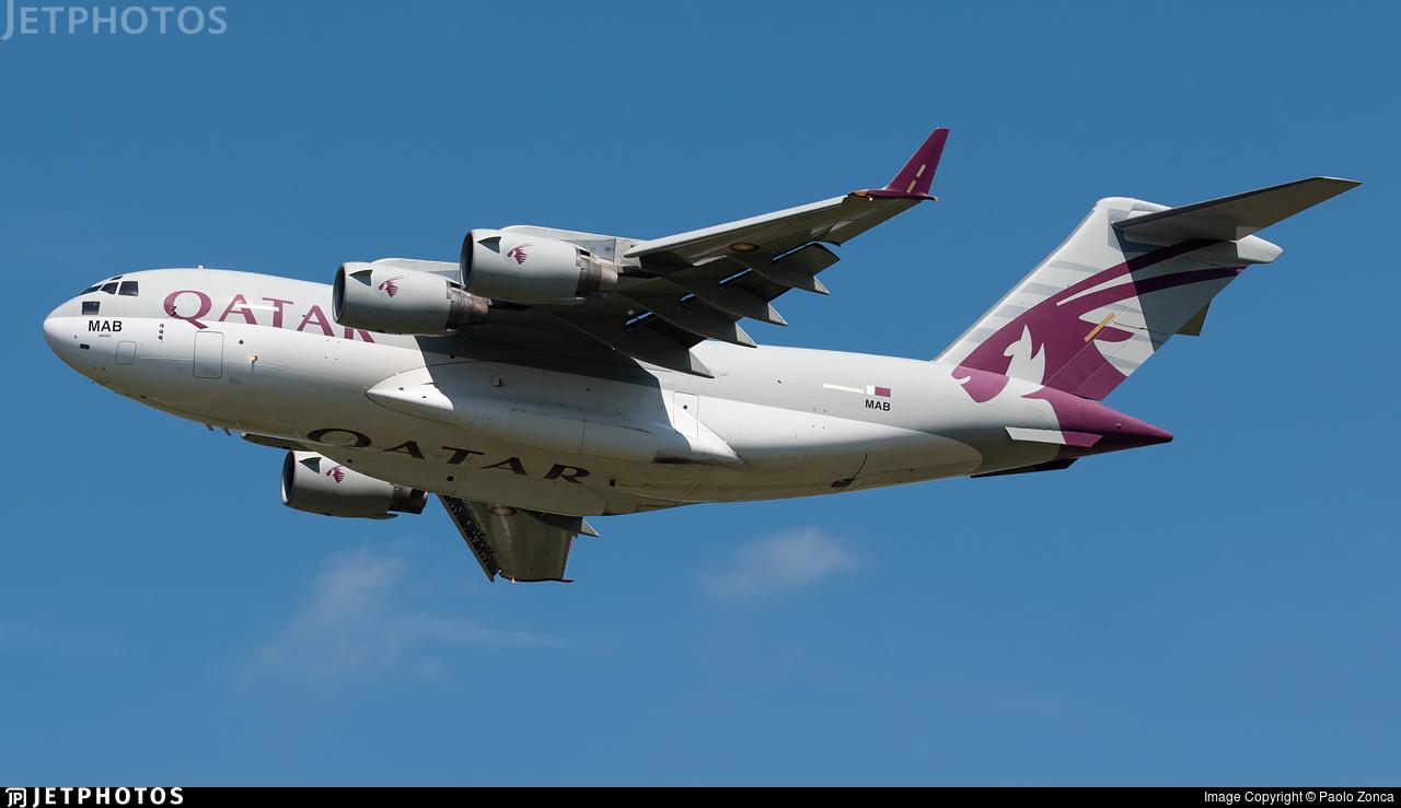 A7-MAB - Boeing C-17A Globemaster III - Qatar - Air Force