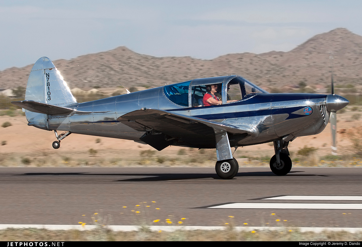 N78103 | Globe GC-1B Swift | Private | Jeremy D  Dando | JetPhotos