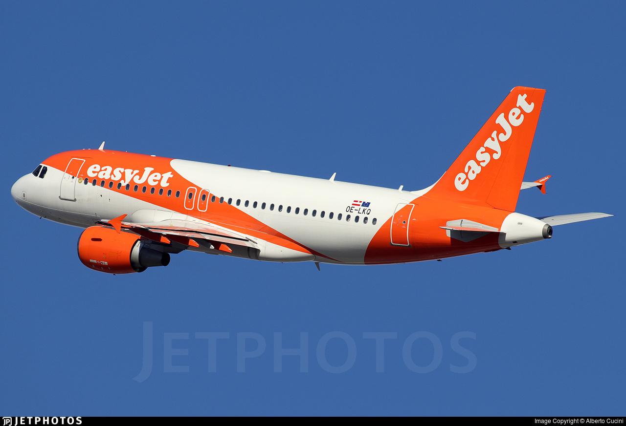 OE-LKQ - Airbus A319-111 - easyJet Europe