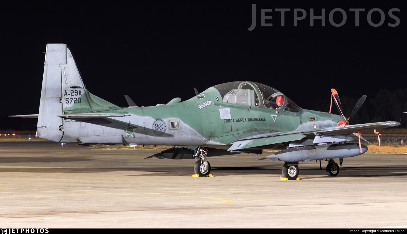 FAB5720 - Embraer A-29A Super Tucano - Brazil - Air Force