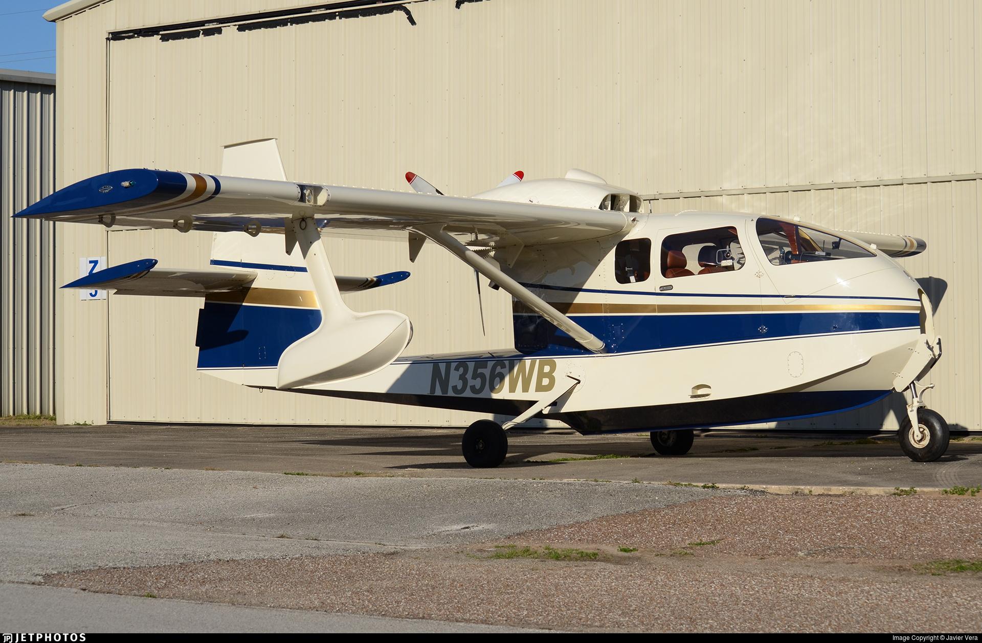 N356WB - Spencer Amphibian Air Car Model S-12E - Private