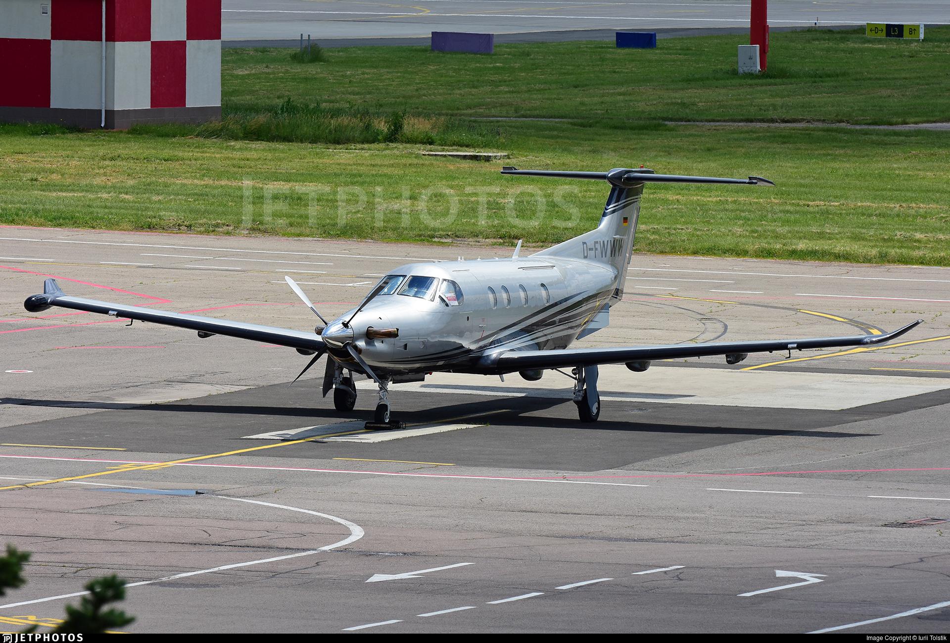 D-FWWW - Pilatus PC-12/47E - Private