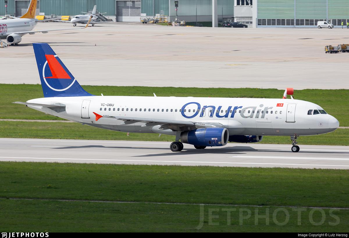 TC-OBU - Airbus A320-232 - Onur Air