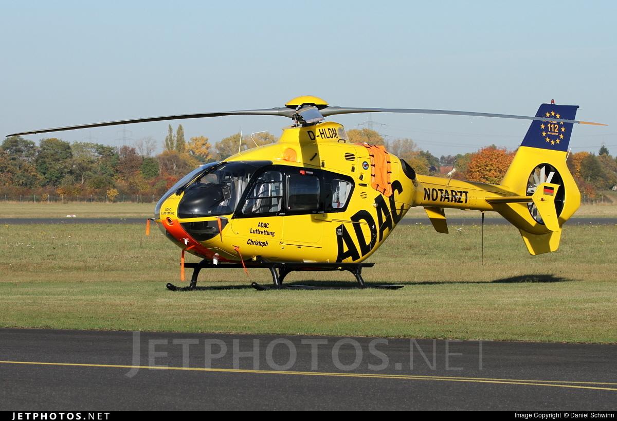 D-HLDM - Eurocopter EC 135P2 - ADAC Luftrettung