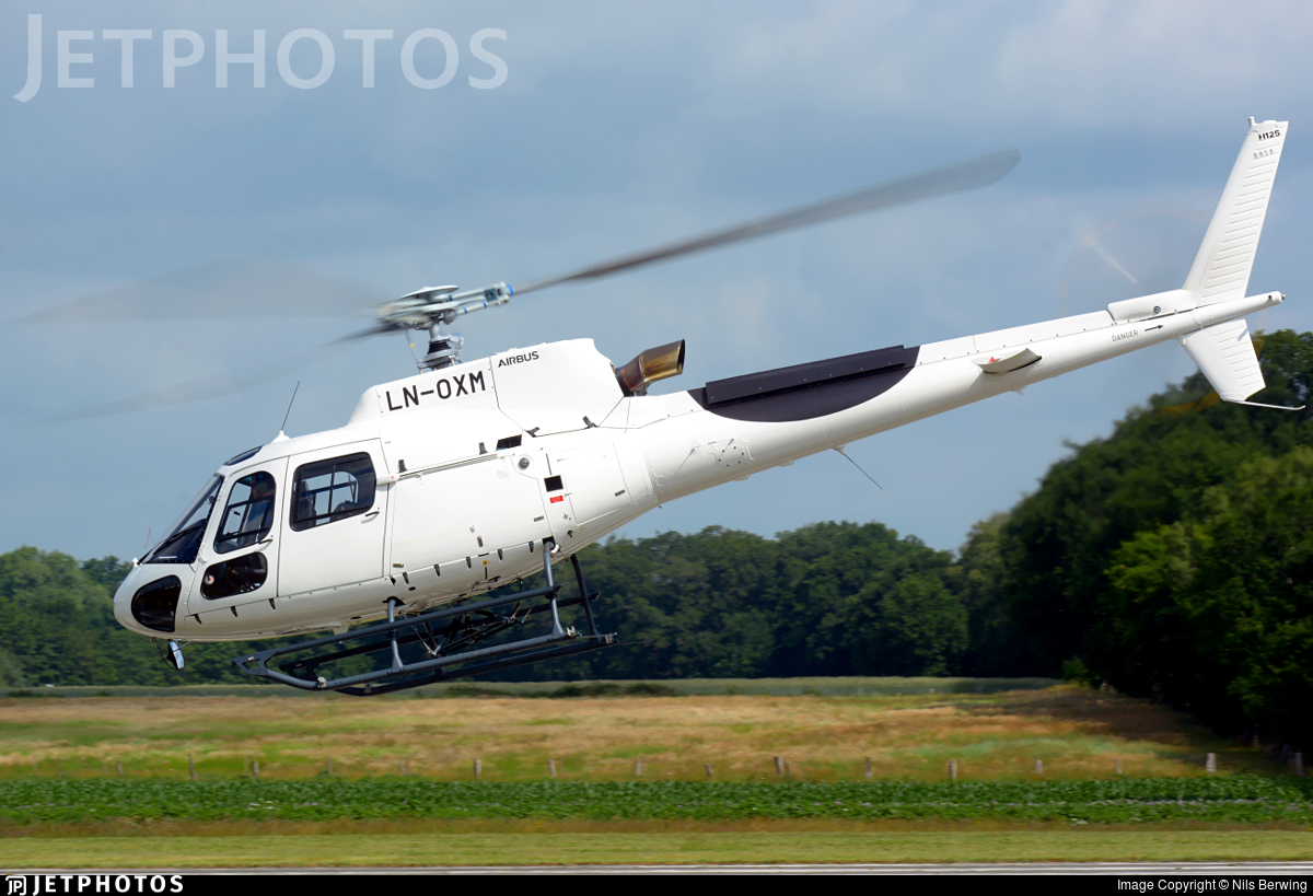 LN-OXM - Airbus Helicopters H125 - Airlift Helicopter