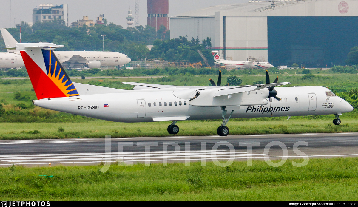RP-C5910 - Bombardier Dash 8-Q402 - PAL Express