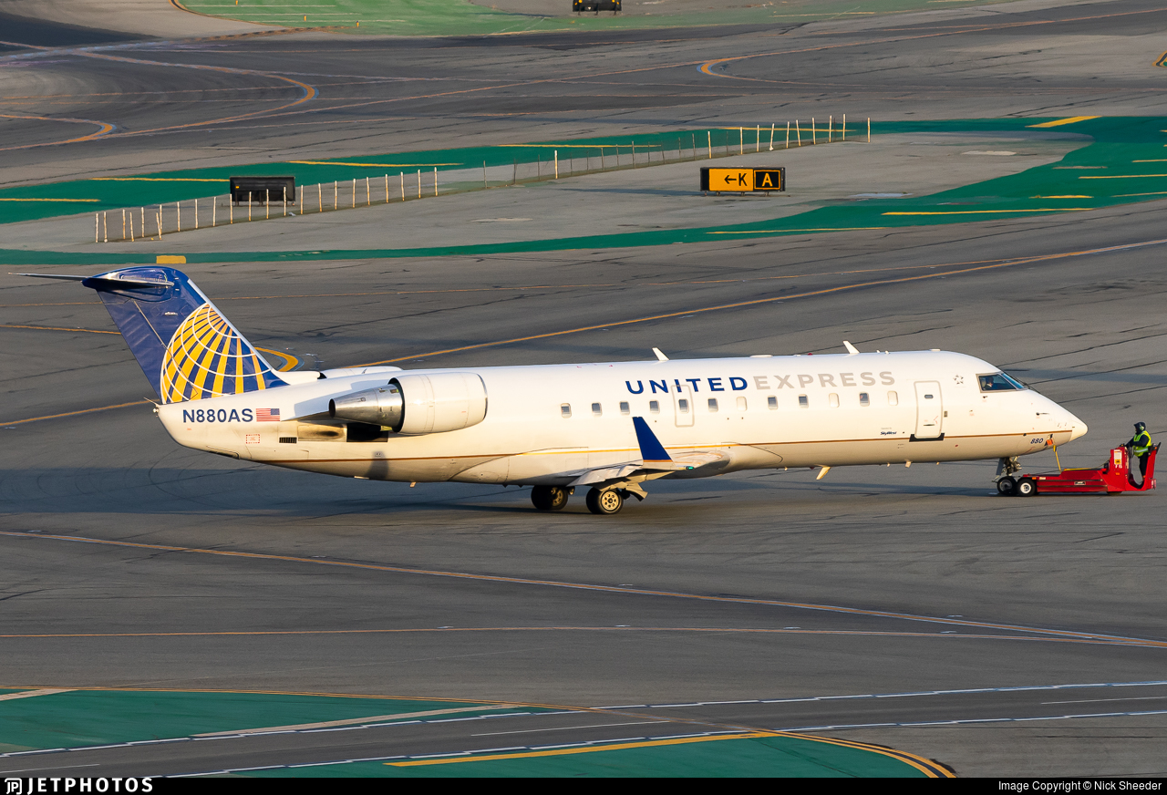 N880AS - Bombardier CRJ-200ER - United Express (SkyWest Airlines)