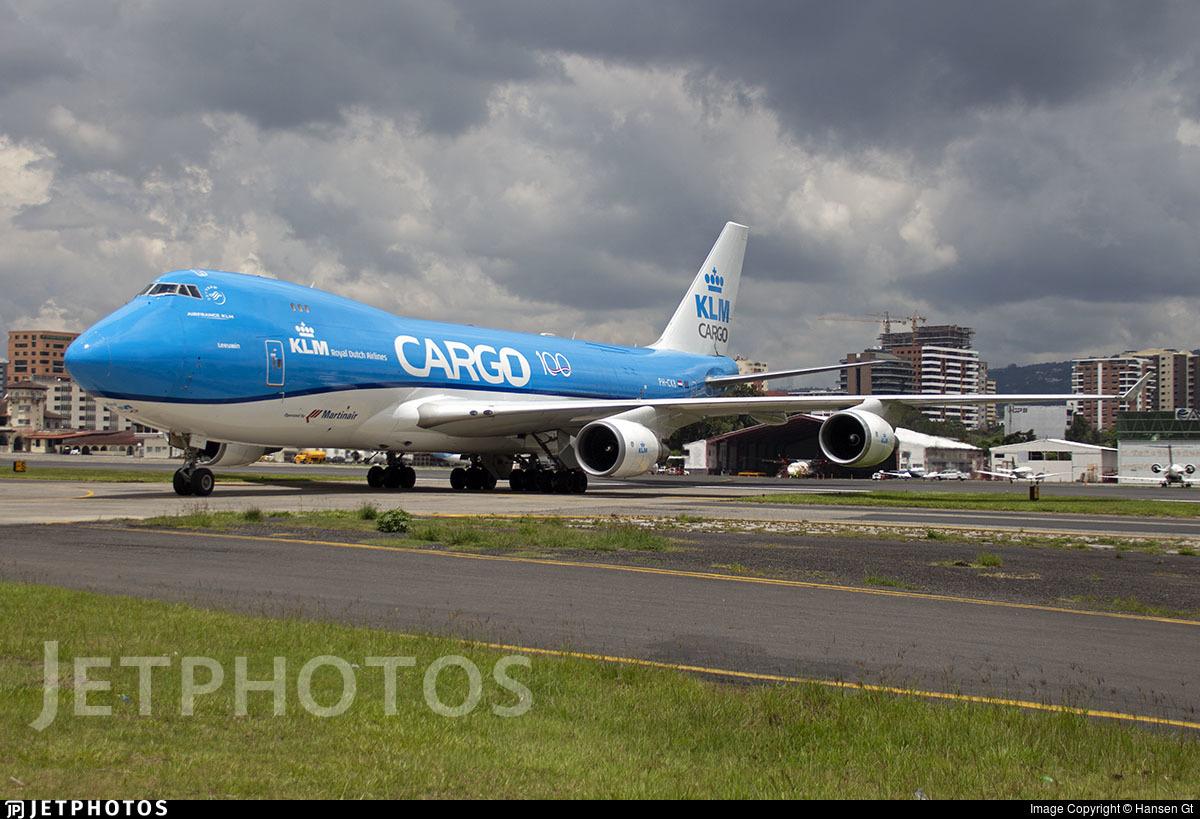 PH-CKB - Boeing 747-406ERF - KLM Cargo