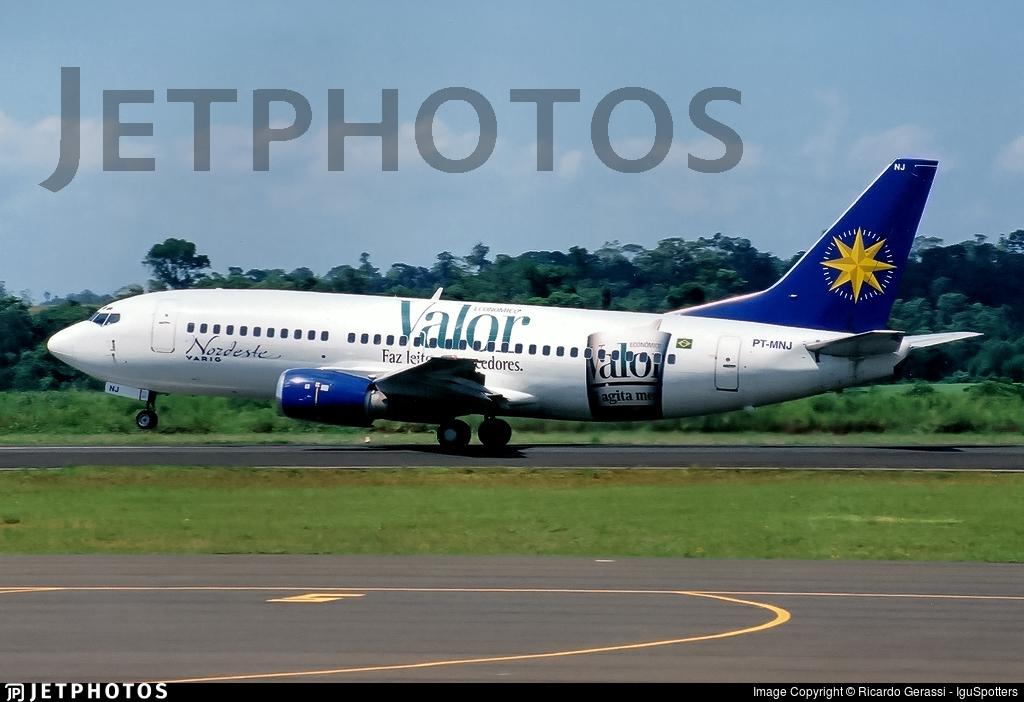 PT-MNJ - Boeing 737-33A - Nordeste