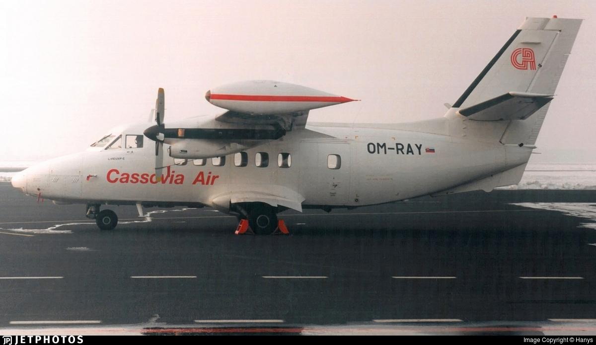 OM-RAY - Let L-410UVP-E9 Turbolet - Cassovia Air