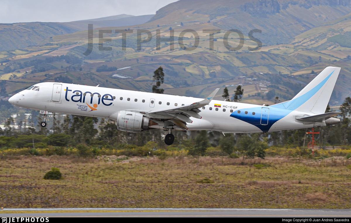 HC-CGF - Embraer 190-100IGW - TAME Ecuador