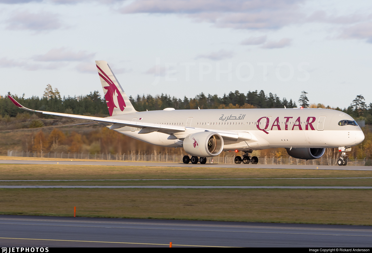 A7-ALI - Airbus A350-941 - Qatar Airways
