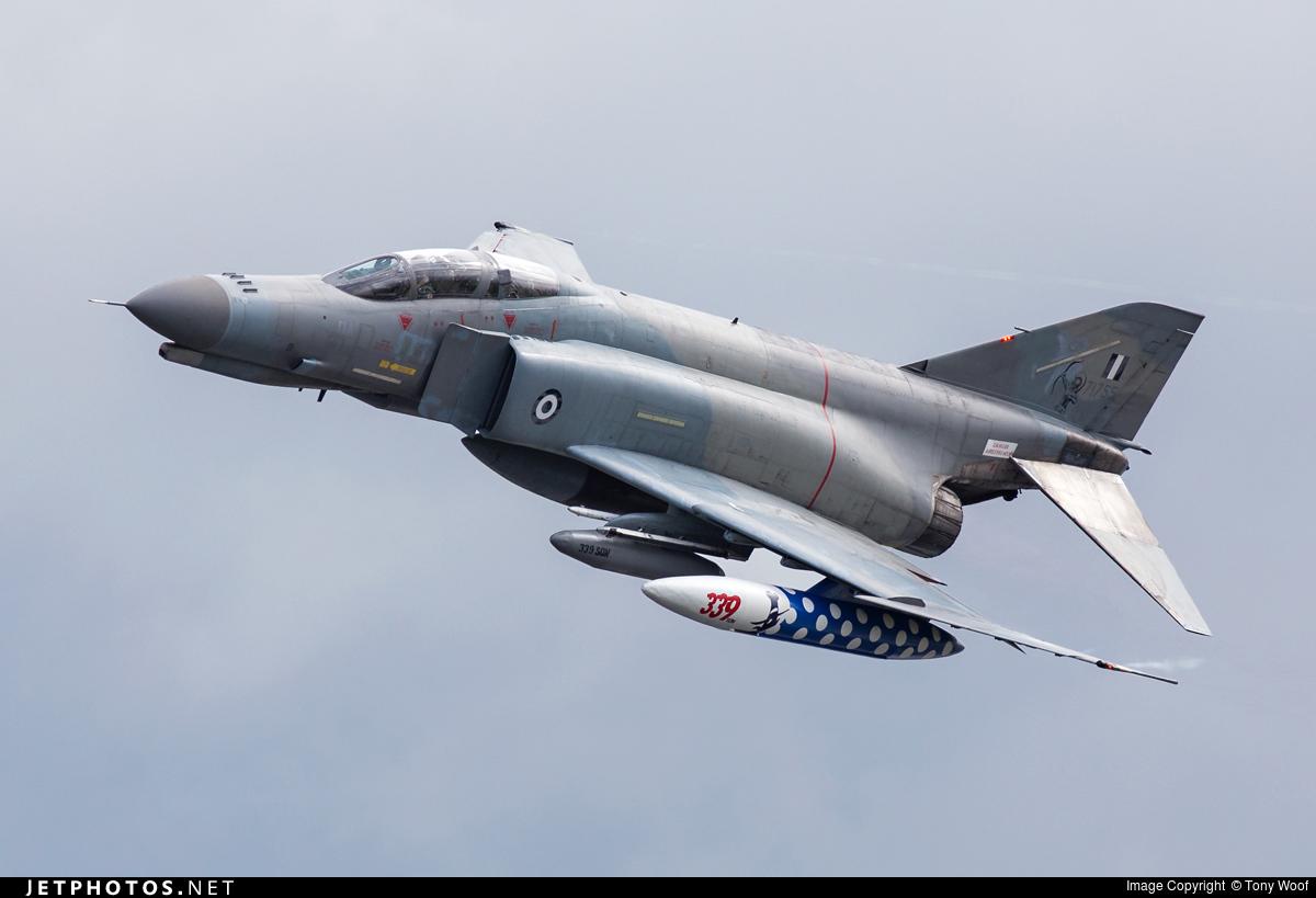 McDonnell Douglas F 4E Phantom II Greece Air Force 71755