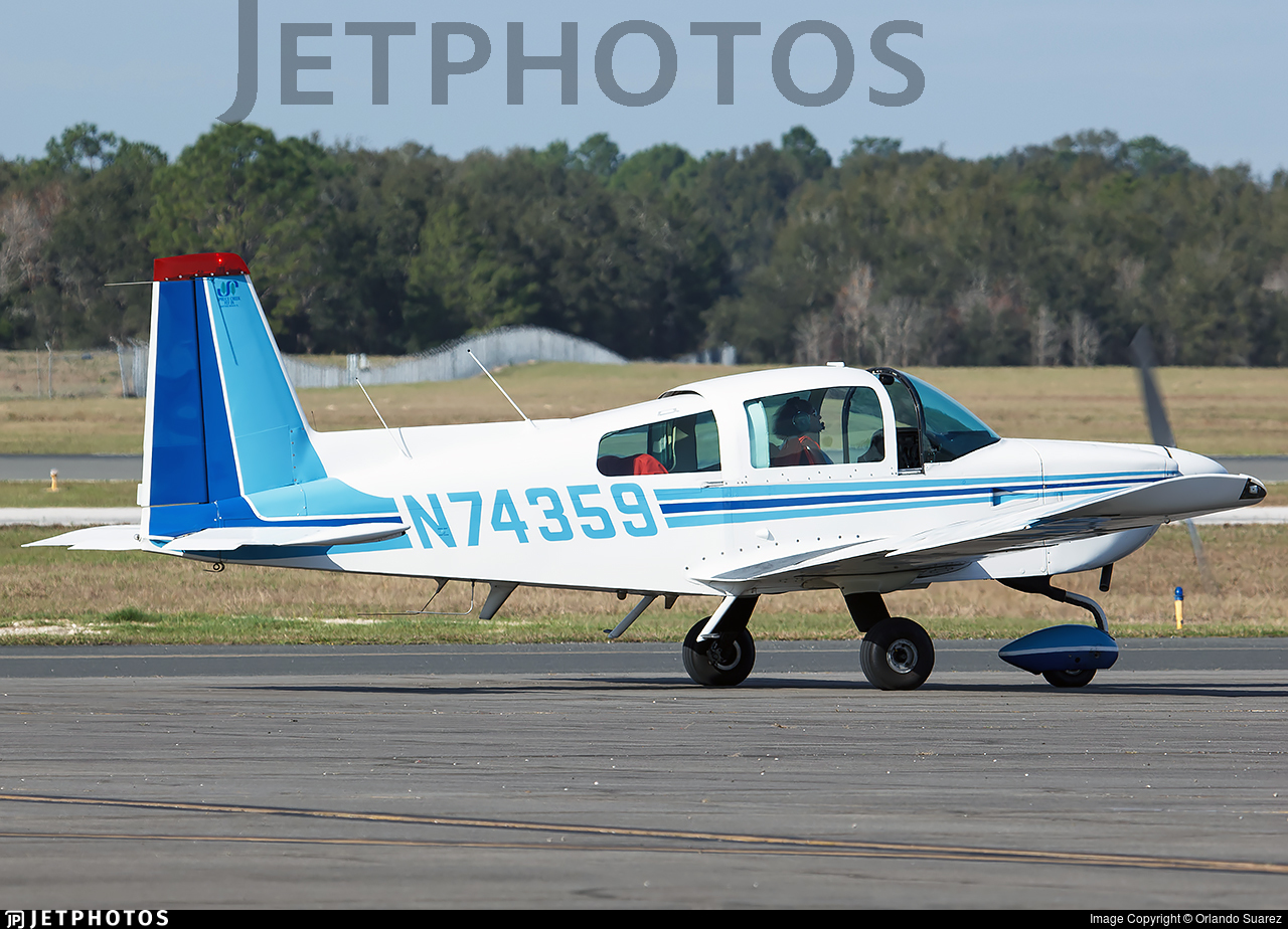 N74359 - Grumman American AA-5B Tiger - Private