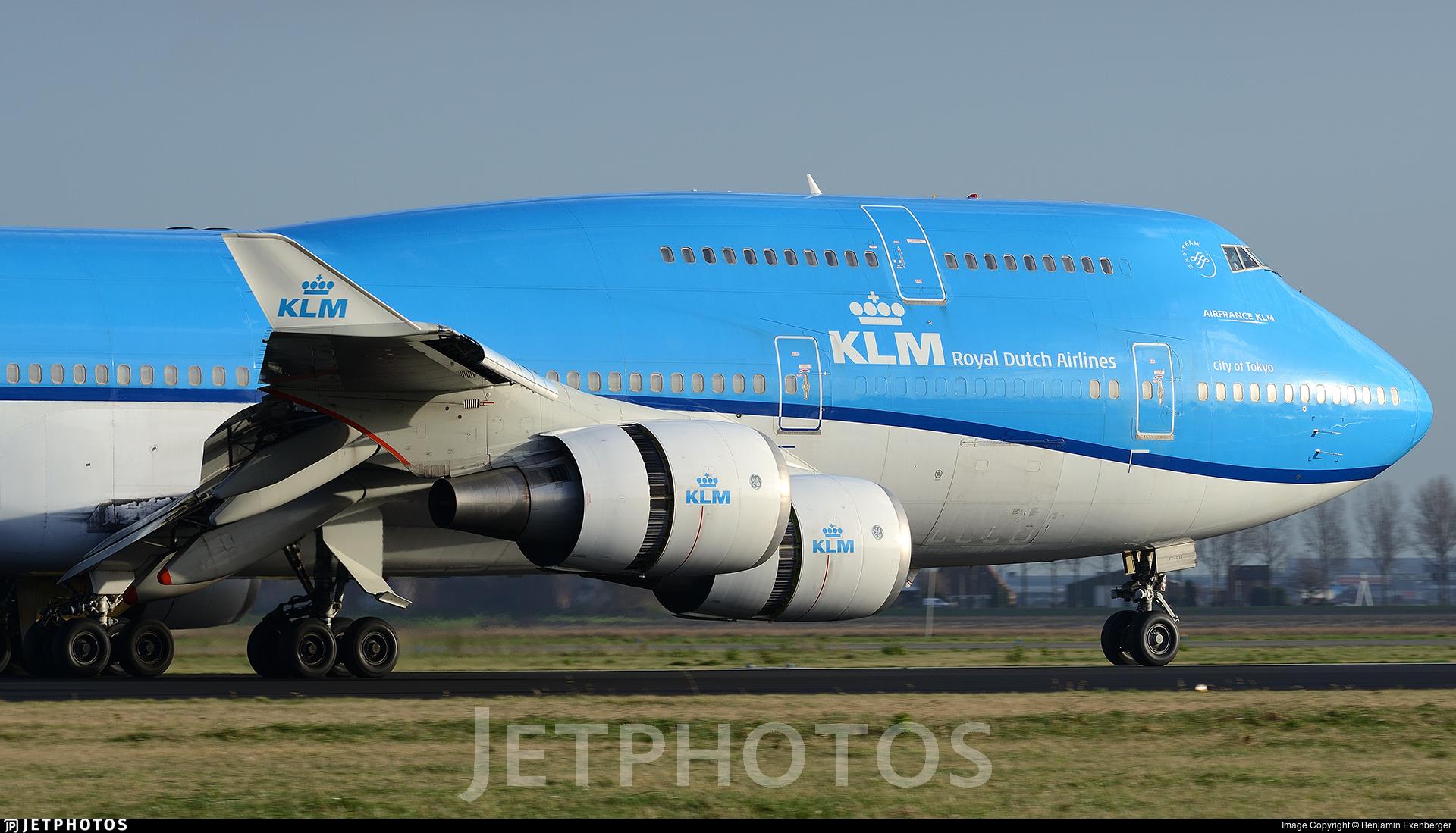 PH-BFT - Boeing 747-406(M) - KLM Royal Dutch Airlines