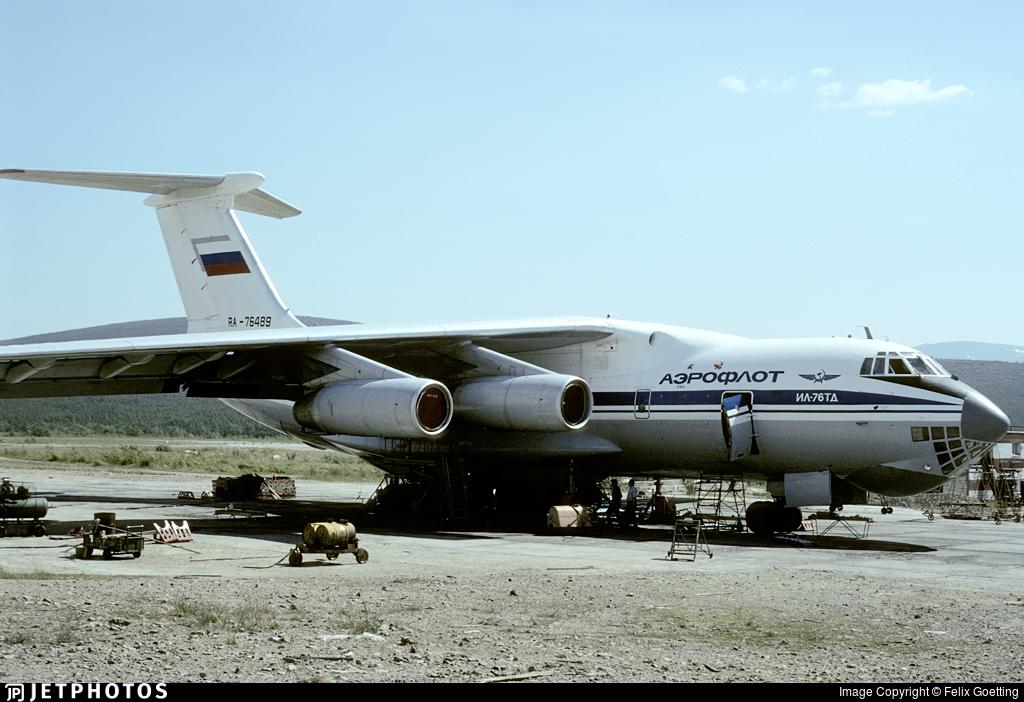 RA-76489 - Ilyushin IL-76TD - Aeroflot