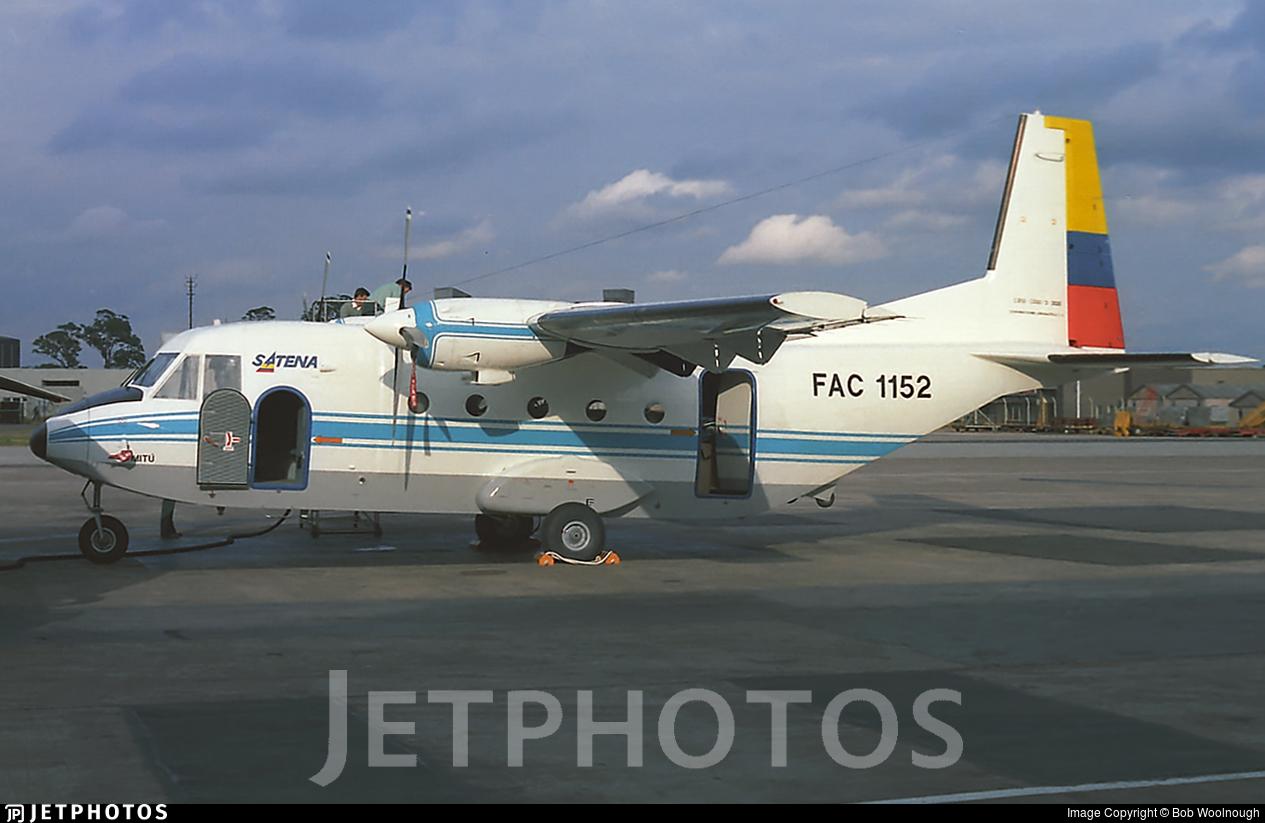 FAC1152 - CASA C-212-200 Aviocar - Satena