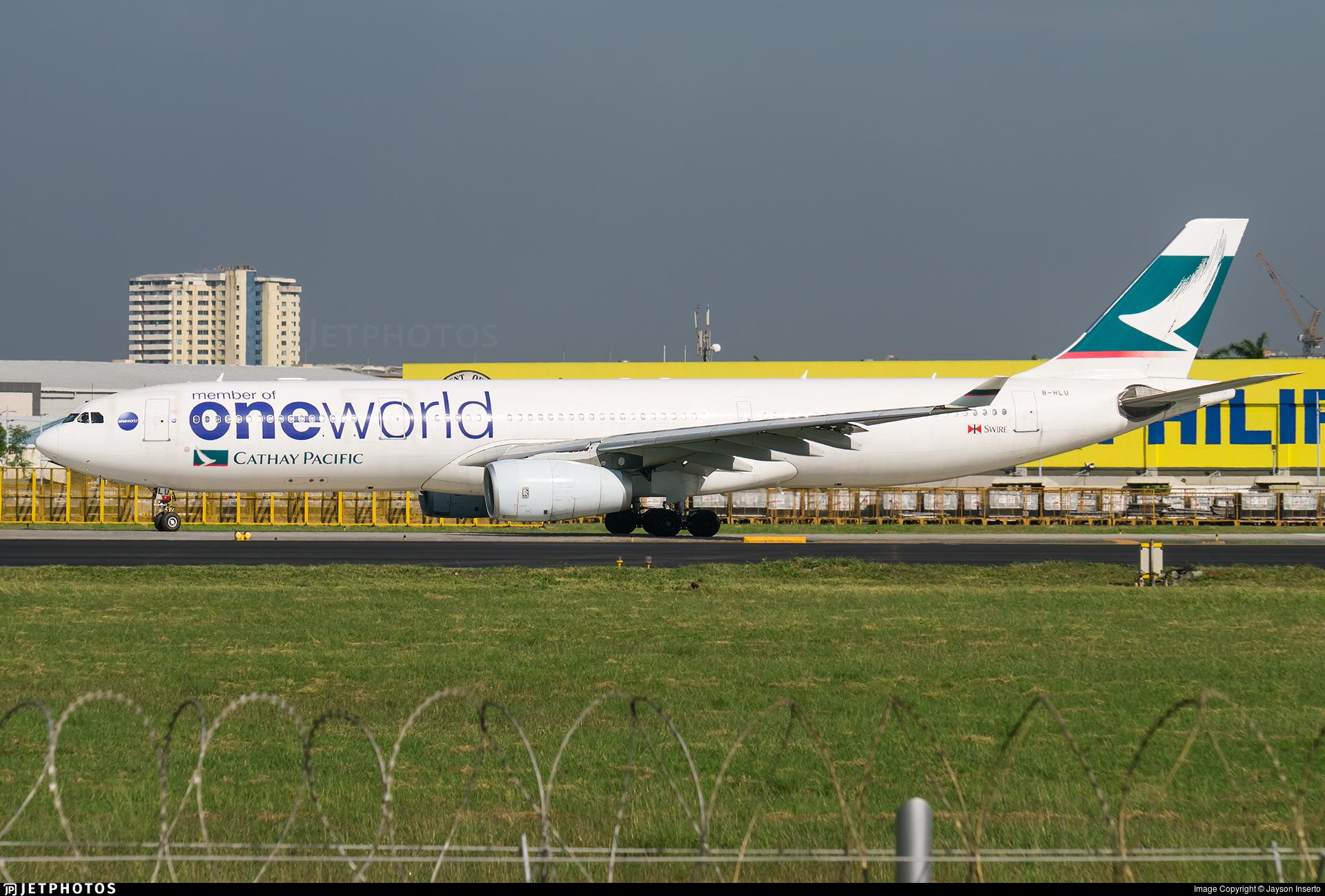 B-HLU - Airbus A330-343 - Cathay Pacific Airways