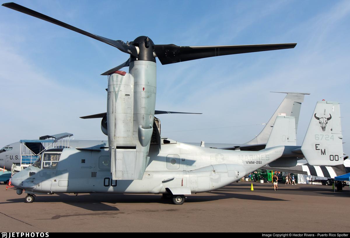 166724 - Boeing MV-22B Osprey - United States - US Marine Corps (USMC)