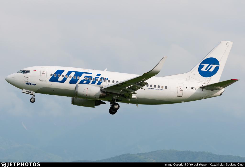 VP-BYM - Boeing 737-524 - UTair Aviation