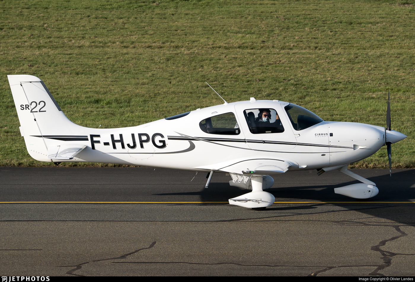 F-HJPG - Cirrus SR22 - Private