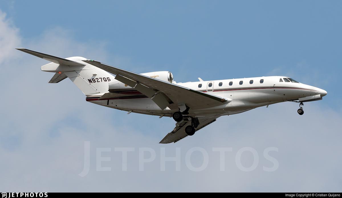 N927QS - Cessna 750 Citation X - NetJets Aviation