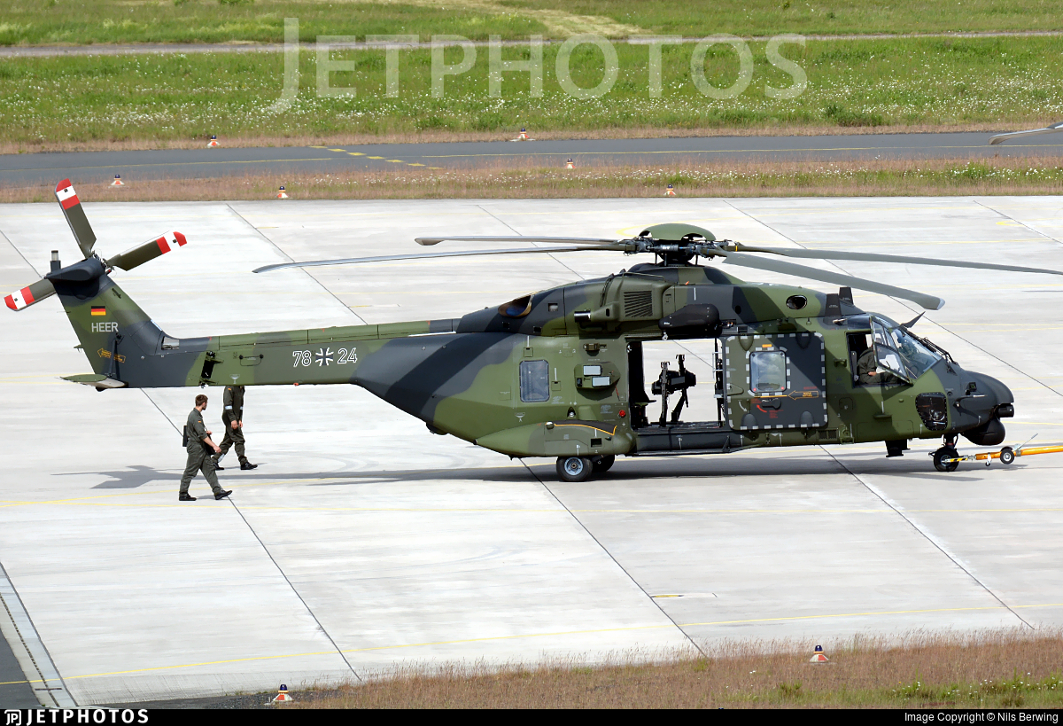 78-24 - NH Industries NH-90TTH - Germany - Army