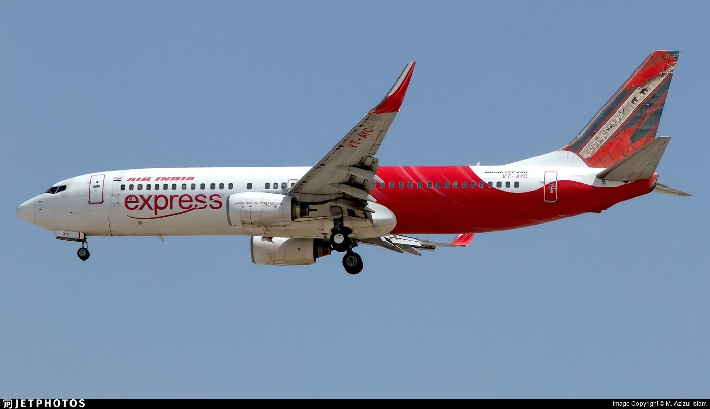 VT-AYC - Boeing 737-8HG - Air India Express