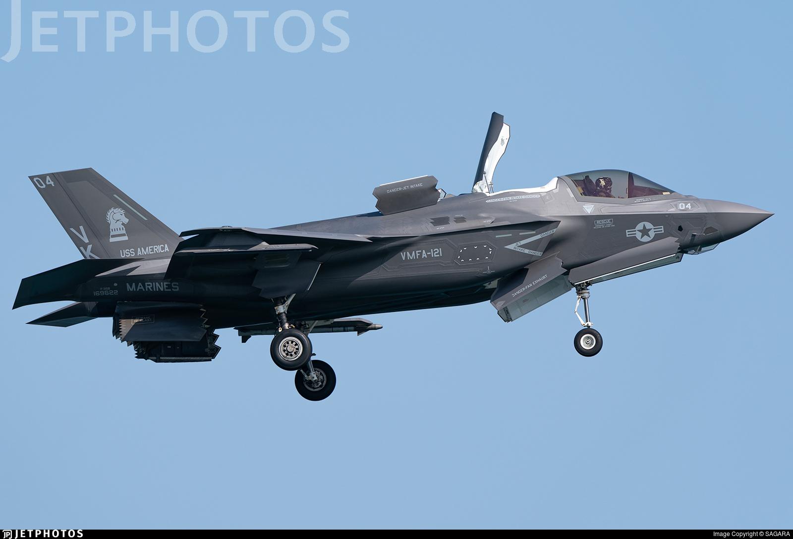 169622 - Lockheed Martin F-35B Lightning II - United States - US Marine Corps (USMC)