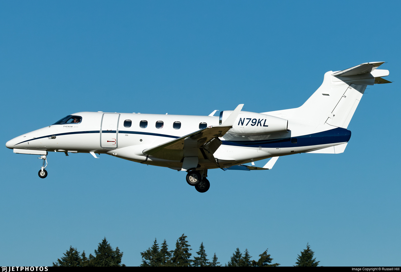 N79KL - Embraer 505 Phenom 300E - Private
