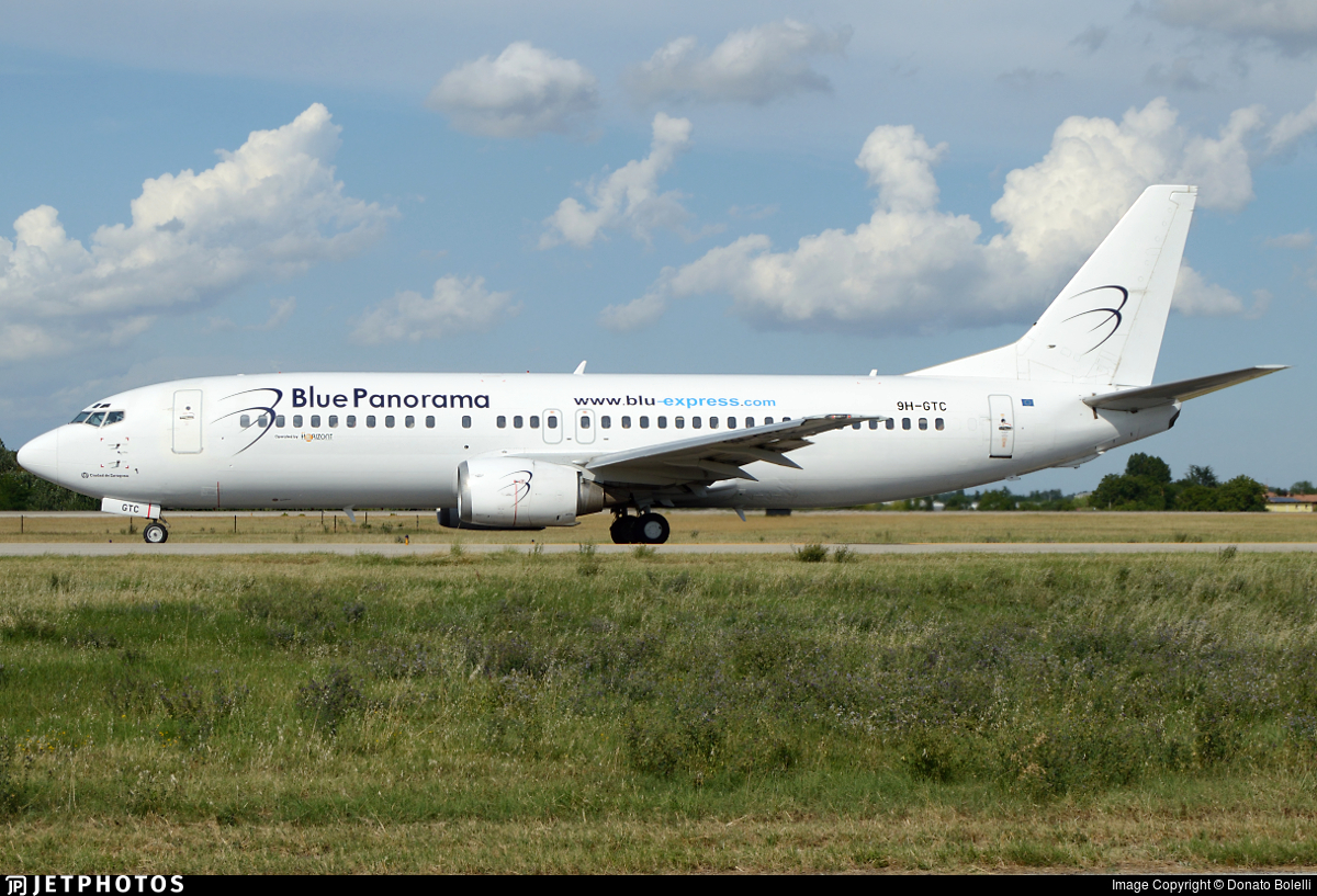 9H-GTC - Boeing 737-430 - Blue Panorama Airlines (Air Horizont)