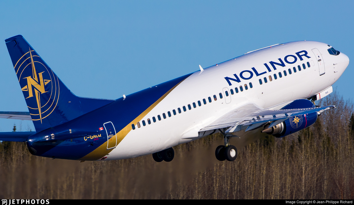 C-GNLQ - Boeing 737-33A(QC) - Nolinor Aviation